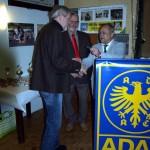 Ehrung des 2. Vorstand Norbert Rauch mit der Gau-Ehrennadel